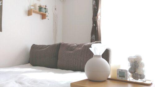 寝室にあるペーパーポット